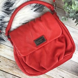 Marc By Marc Jacobs Apple Red Crossbody Bag